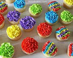 Mexican fiesta cupcakes
