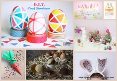 DIY et bricolages de Pâques