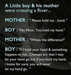mother and son quotes little boys | Nice Sayings About Mother A Little Boy And His Mother Were Crossing A ...
