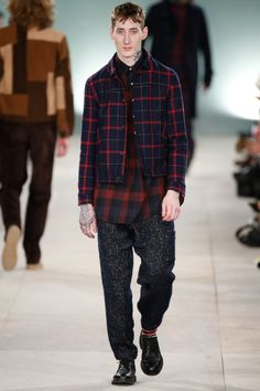 Oliver Spencer | Menswear - Autumn 2016 | Look 6