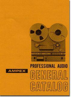 Ampex Professional catalog cover