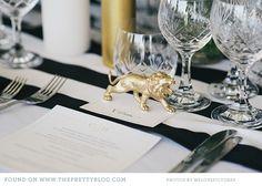 modern black gold wedding gauteng 029 Human & Cheska Stylish Bush Wedding