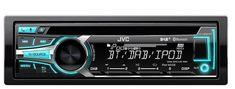 JVC KD-DB95BT JVC DAB car stereo USB Bluetooth iPOD Android iPhone IOS compatibl
