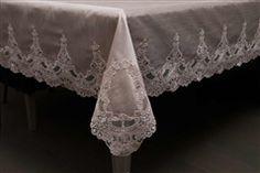 çeyiziniz için harika parçalar www.sonsuzdekorasyon.com da!  Special Rose Masa Örtüsü | Dantelli Ürünler | Sonsuz Dekorasyon