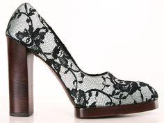 Gucci Lace Heels