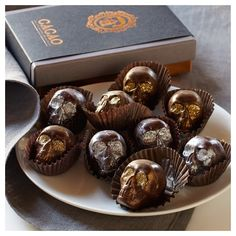 Chocolate Caramel Skulls ($60) ❤ liked on Polyvore featuring home, home decor, halloween home decor, skull home accessories, gold home decor and skull home decor