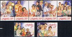 Australia 1987 Christmas Set Fine Mint SG 1098/104 Scott 1044/6  Other Australian Stamps HERE