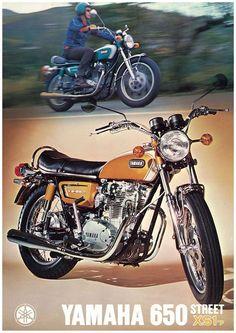 Vintage Yamaha 650