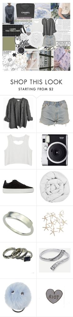 """""""holding me tight in our final hour"""" by kristen-gregory-sexy-sports-babe ❤ liked on Polyvore featuring Pringle of Scotland, Chanel, Levi's, Fuji, Axel Arigato, The Fine Bedding Company, Topshop, ASOS and vintage"""
