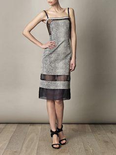 Liva Stingray dress - Preen  love the vintage feel to this!