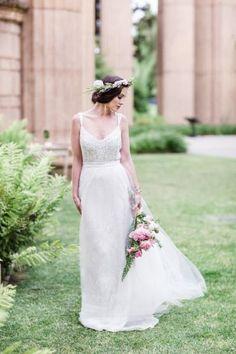 ロマンティックなwedding dressを20着あつめました♡にて紹介している画像