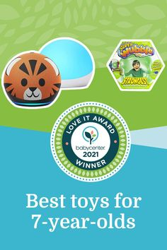 Best toys for 7-year-olds Top Toys, Baby Center, 7 Year Olds, Activities, Creative, Fun, Nursery Nook, Hilarious