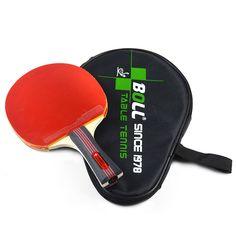 브랜드 품질 테이블 테니스 라켓 여드름-고무 박쥐 빠른 공격 루프 또는 잘라 형 플레이어 낮은 가격 라켓