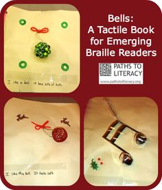 This tactile book uses real bells and objects and is sure to be a favorite with children who are visually impaired or who have multiple disabilities.