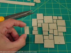 One of the techniques that I use in my projects is tiled flagstone streets.  Different from cobblestone, this represents a surfaces of squa...