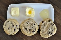 Yes, softening your butter in the microwave makes a huge difference in the outcome of your cookie. So now you know why your mother always wanted you to take the butter out of the fridge ahead of time to give it time to defrost.