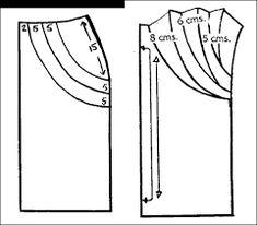Resultado de imagen para costura patrones de blusas