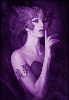 Lovely in purple.