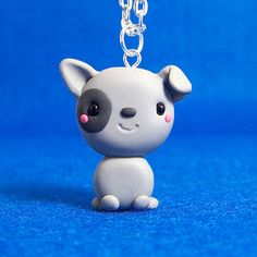 Puppy Chibi Necklace