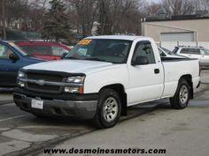 2005 Chevrolet Silverado 1500, 143,453 miles, $5,725.