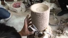 Beautiful, Unique and Rare.  How the Scentsy Lace Warmer is made!  #casiestevenson #justawickaway