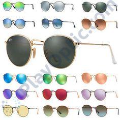 f4f4730c9 a gafas de sol originales ray ban rb3447 round metal distribuidor oficial