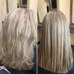 Never underestimate Cora's magic with foils and a smoothing treatment! HELLO SPRING! When is your appointment? (918)369-8482