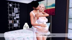Sims 4 CC's - The Best: Posen by Simsophrenia