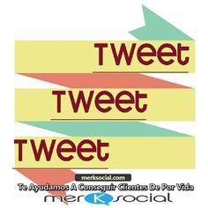 Twitter para principiantes – qué es un tweet. Un tweet es un mensaje que consta de 140 caracteres dónde las personas pueden expresar su opinión acerca de un tema de manera concreta. Si deseas saber más de twitter, no se te olvide pasar a nuestro sitio web: http://www.merksocial.com/ dónde encontraras toda la información que estás buscando