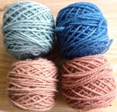 woad blue with woad pink from reused woad leaves after making regular woad vat