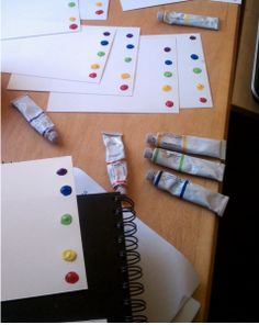 Make Your Own Paint With Water Pages for Operation Christmas Child shoebox gifts- print color-by-number pages on watercolor paper & try this?