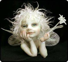 polymer clay fairy
