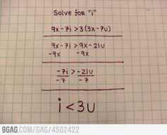 Math Problem Solved with Love