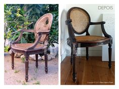 CADEIRA VILA BERTA * Before & After * By Once Upon a Trash