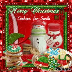Red- Merry Christmas {Cookies for Santa} ((alwaysanangel69))©®