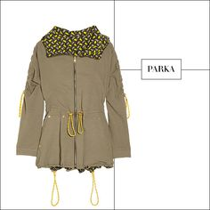 Best Spring Jacket Kenzo Parka - List of Best Jackets for Spring 2013 - Harper's BAZAAR