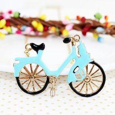 #SheInside Fashion Vintage New Arrival Bicycle Necklace - Sheinside.com
