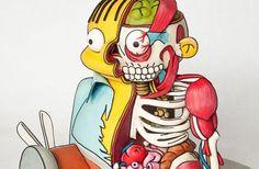 Schaurig schöne Simpsons Ralph Wiggum 3D Torte