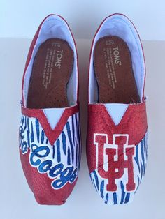 University of Houston Cougars  Painted by laceykayecreations, $155.00