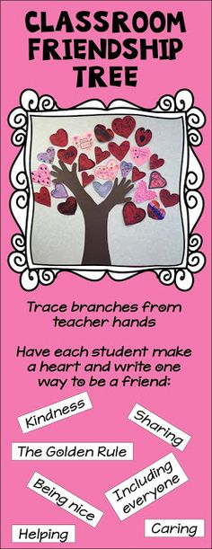 Classroom Friendship Tree