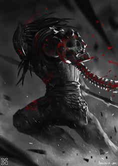 predator——Human killer, mist XG on ArtStation at https://www.artstation.com/artwork/2YBQa