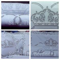 Kit Coroa Princesa - fundo marrom