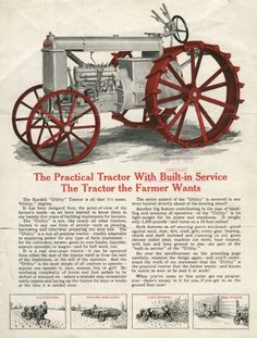 Kardell Utility Tractor