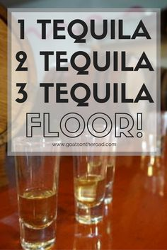 1 Tequila, 2 Tequila, 3 Tequila, Floor | Mayapan Distillery | Mexico | Central America Travel