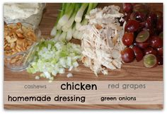 THEE best Cashew Chicken Salad. Period. MadeFromPinterest.net