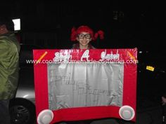 Coolest Etch a Sketch Costume: My Etch a Sketch costume was inspired by the 80's games (listen that was when games were fun and educational, lol).  I searched for the right size box
