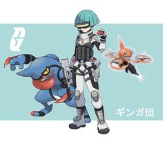 Pokemon Rearmed Team Galactic Grunt by TheGraffitiSoul on DeviantArt Pokemon Oc, Pokemon Memes, Pokemon Fusion, Pokemon Cards, Deviantart Pokemon, Anime Weapons, Superhero Design, Anime One, Nerd Love