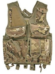 Green Camo Tactical Vest For Sale