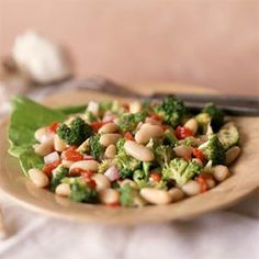 Broccoli-and-Cannellini Bean Salad | MyRecipes.com