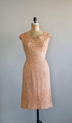 vintage 1950s San Souci lace dress
